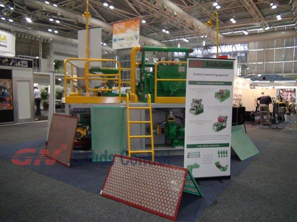shale shaker screens in Austrailan No Dig Show